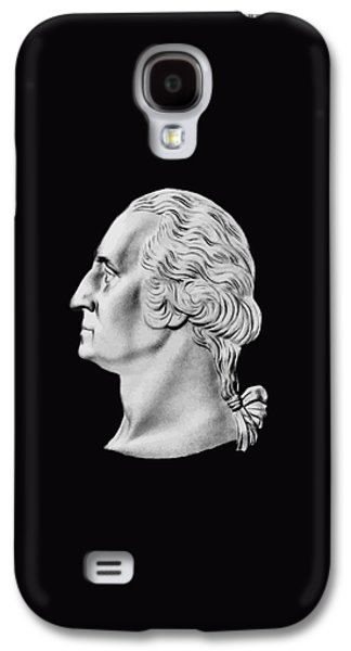 President Washington Bust  Galaxy S4 Case by War Is Hell Store