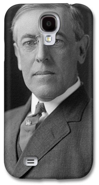 President Woodrow Wilson Galaxy S4 Case