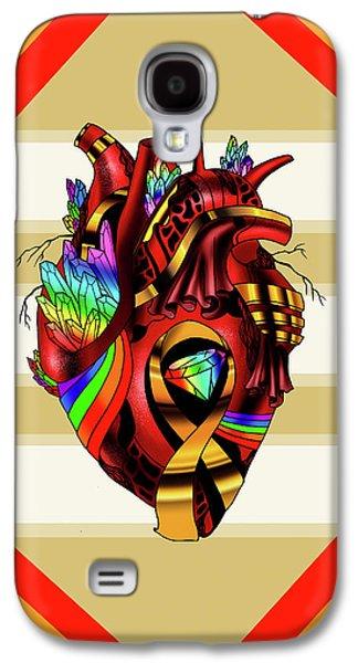 Pride Awareness Heart Galaxy S4 Case