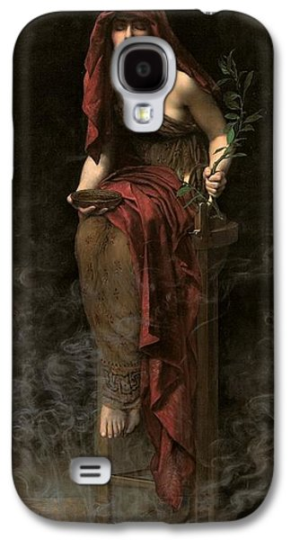 Priestess Of Delphi Galaxy S4 Case by John Collier