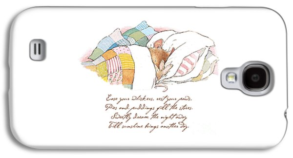 Mice Galaxy S4 Case - Primrose Goes To Sleep by Brambly Hedge