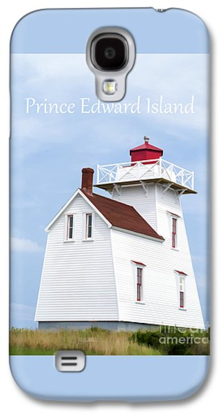 Prince Edward Island Lighthouse Poster Galaxy S4 Case