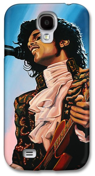 Prince Painting Galaxy S4 Case by Paul Meijering