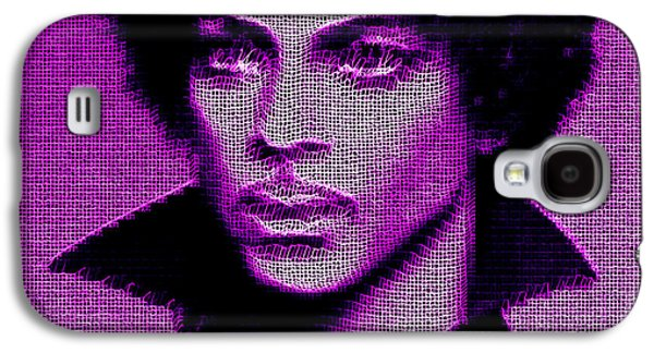Prince - Tribute In Purple Galaxy S4 Case
