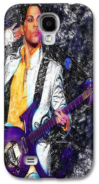 Prince - Tribute With Guitar Galaxy S4 Case