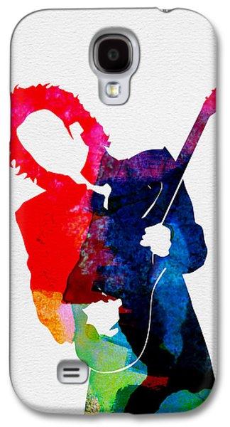 Prince Watercolor Galaxy S4 Case by Naxart Studio