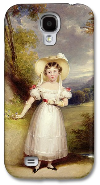 Princess Victoria Aged Nine Galaxy S4 Case by Stephen Catterson the Elder Smith