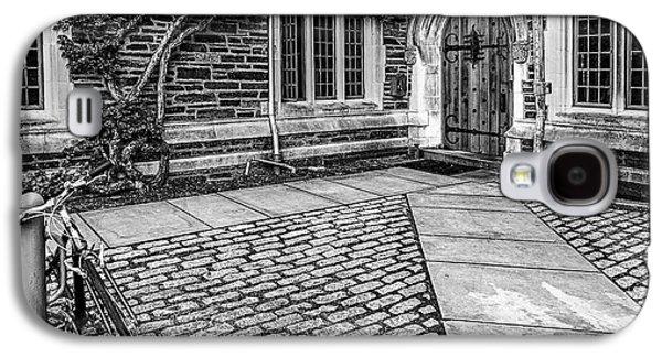 Princeton University Foulke Hall Bw Galaxy S4 Case