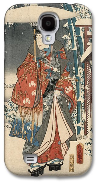 Print From The Tale Of Genji Galaxy S4 Case