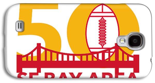 Pro Football Championship 50 Sf Bay Area Galaxy S4 Case by Aloysius Patrimonio