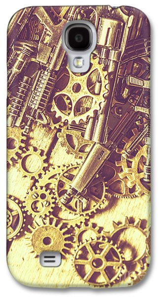 Process Of Strategic Battle Galaxy S4 Case