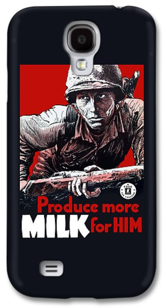 Produce More Milk For Him - Ww2 Galaxy S4 Case by War Is Hell Store
