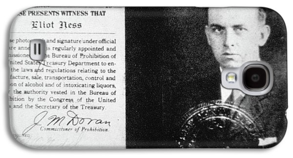 Prohibition Agent Id Card Of Eliot Ness Galaxy S4 Case