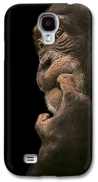 Chimpanzee Galaxy S4 Case - Promiscuous Girl by Paul Neville