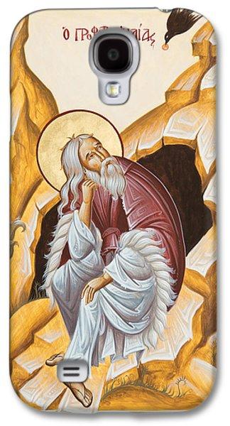 Prophet Elijah  Galaxy S4 Case by Julia Bridget Hayes