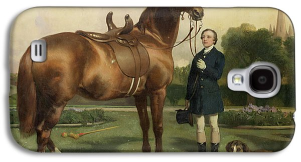 Owner Galaxy S4 Cases - Prosperity Galaxy S4 Case by Sir Edwin Landseer
