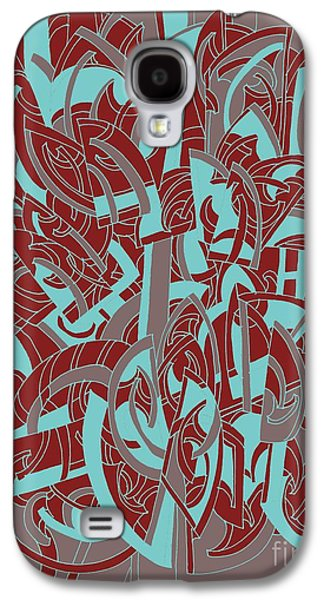Protractor Memories Galaxy S4 Case by Nancy Kane Chapman