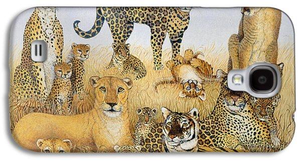 The Big Cats Galaxy S4 Case by Pat Scott