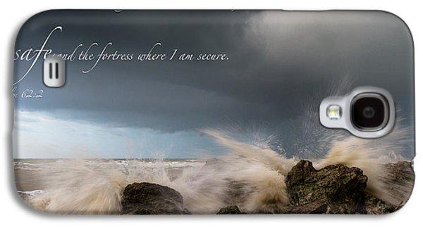 Psalm 62 2 Galaxy S4 Case
