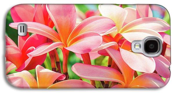 Pua Melia Ke Aloha Maui Galaxy S4 Case