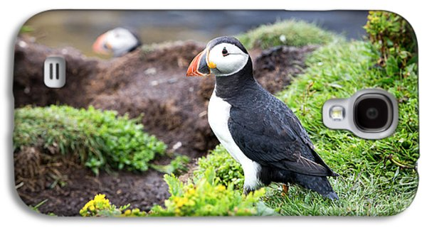 Puffin  Galaxy S4 Case by Jane Rix