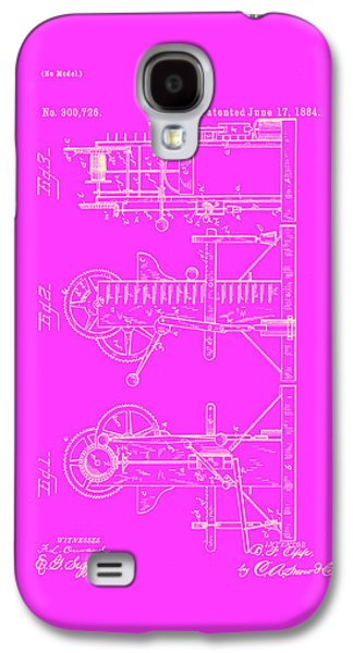 Pump Motor Patent Drawing 1c Galaxy S4 Case