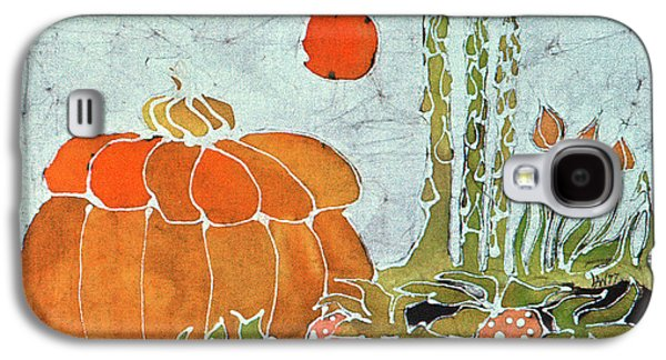 Food And Beverage Tapestries - Textiles Galaxy S4 Cases - Pumpkin and Asparagus Galaxy S4 Case by Carol  Law Conklin