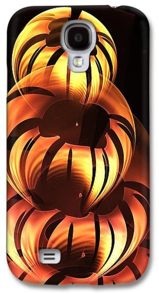 Pumpkin Carving Galaxy S4 Case by Anastasiya Malakhova