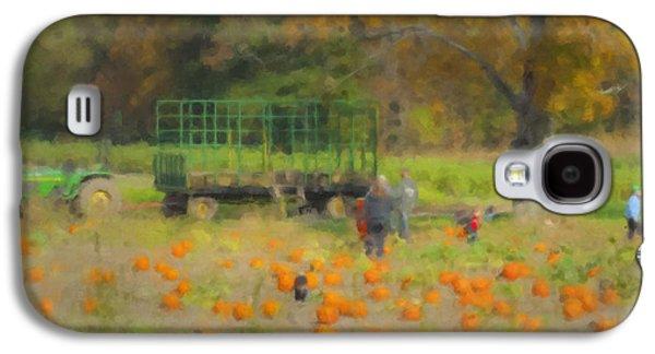 Pumpkins At Langwater Farm Galaxy S4 Case by Bill McEntee