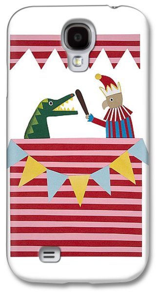 Punch And Judy Galaxy S4 Case