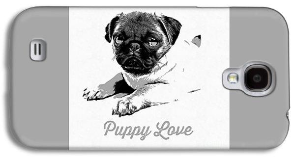 Puppy Love Galaxy S4 Case