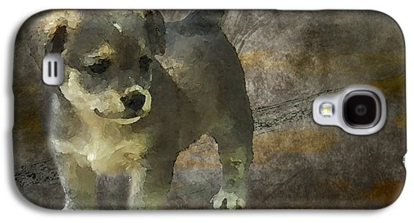 Puppy Galaxy S4 Case by Svetlana Sewell