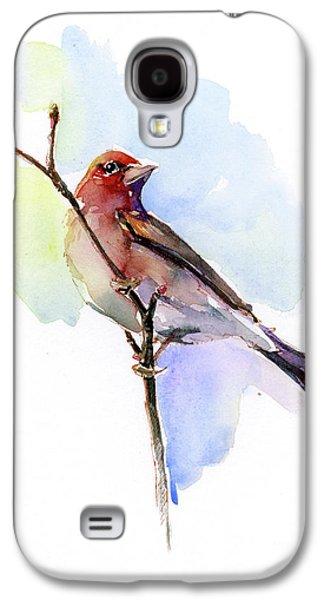 Purple Finch Galaxy S4 Case
