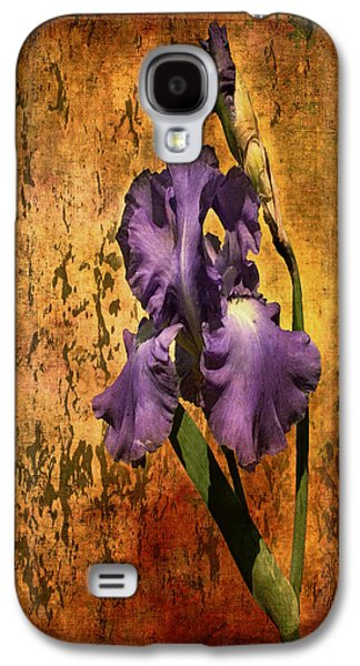 Purple Iris At Sunset Galaxy S4 Case by Bellesouth Studio