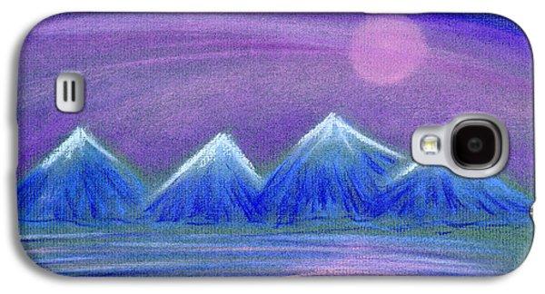 Purple Night 3 Galaxy S4 Case