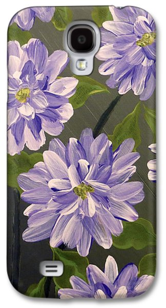 Purple Passion Galaxy S4 Case by Teresa Wing