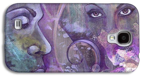 Purple Rain Galaxy S4 Case by Shadia Derbyshire