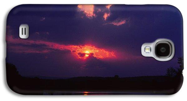 Purple Sunset Galaxy S4 Case