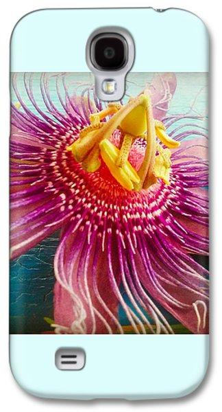 Purple Tropic Galaxy S4 Case by Alicia Berent