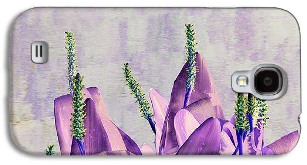 Purple Water Plant Galaxy S4 Case