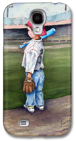 Baseball Bats Galaxy S4 Case - Put Me In Coach  by Sam Sidders