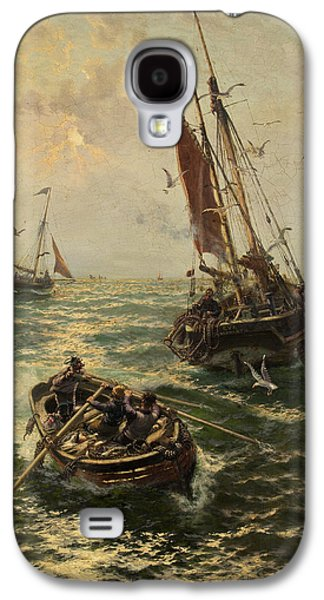 Putting The Catch Ashore Galaxy S4 Case