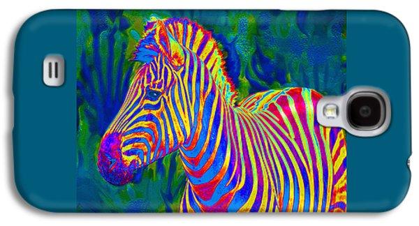 Pyschedelic Zebra Galaxy S4 Case