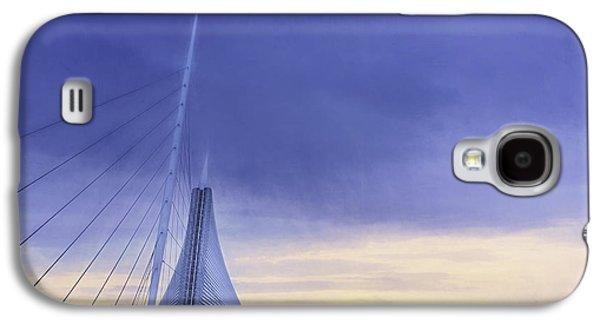 Quadracci Pavilion Sunrise Galaxy S4 Case by Scott Norris