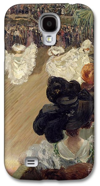 Quadrille At The Bal Tabarin Galaxy S4 Case by Abel-Truchet