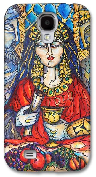 Queen Esther Galaxy S4 Case by Rae Chichilnitsky