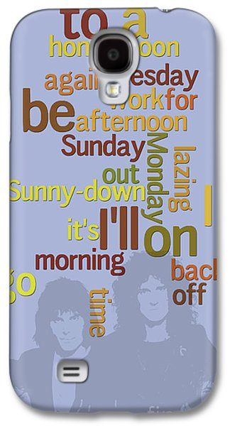 Queen. Lazing On A Sunday Afternoon. Order The Lyrics Game. Galaxy S4 Case