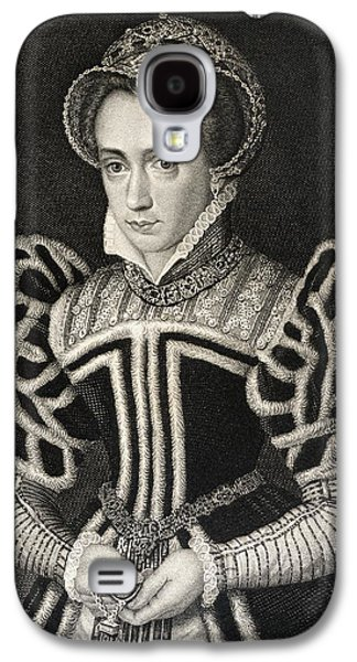 Queen Mary Aka Mary Tudor Byname Bloody Galaxy S4 Case by Vintage Design Pics