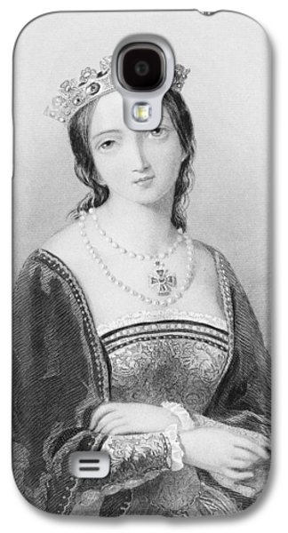Queen Mary I, Aka Mary Tudor, Byname Galaxy S4 Case by Vintage Design Pics