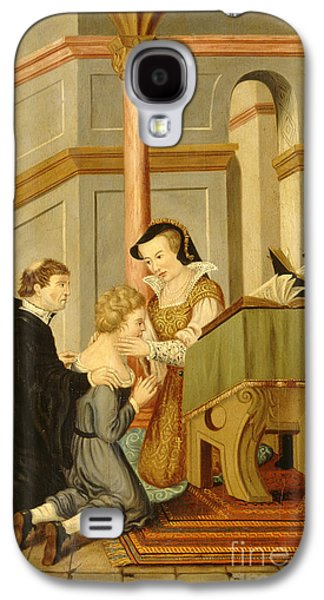 Queen Mary I Curing Subject With Royal Galaxy S4 Case